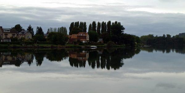 Spiegelungen in der Seine