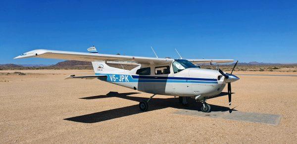 Cessna V5-JPK der Desert Air in Sossusvlei