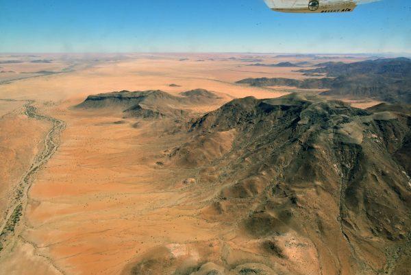 Namibia aus der Luft gesehen