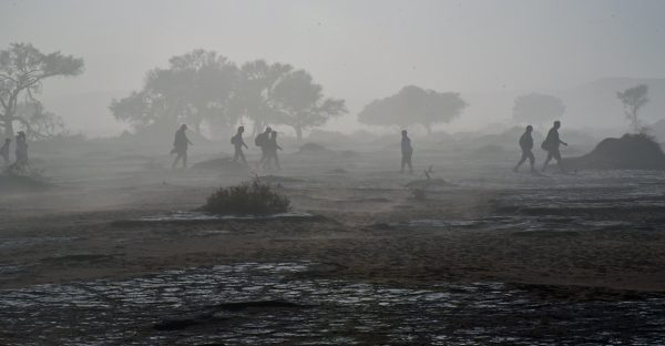 Sturm in Sossusvlei