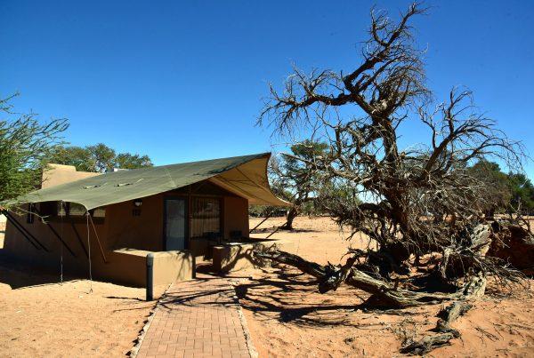 Mein Bungalow in der Sossusvlei Lodge