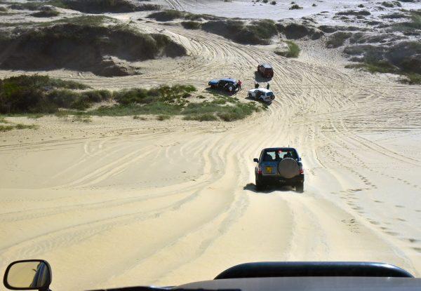 Jeep Fahrt durch die Dünen von Sandwich Harbour