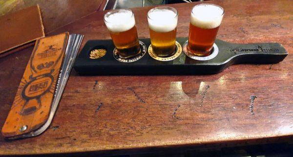 Bier im Strandhotel von Swakopmund