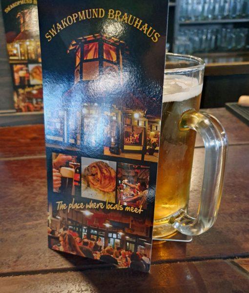 Bier im Brauhaus von Swakopmund