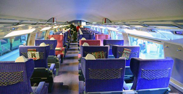 Im TGV von Paris nach Mannheim