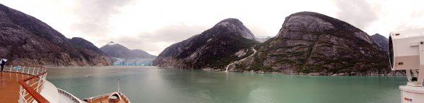 Blick auf den Tracy-Arm-Fjord
