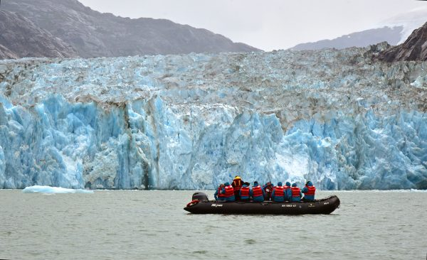 Der Sawyer-Gletscher im Tracy-Arm-Fjord