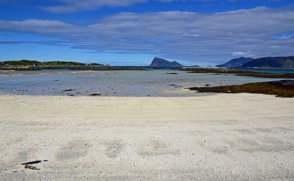 Der Strand von Sommarøy