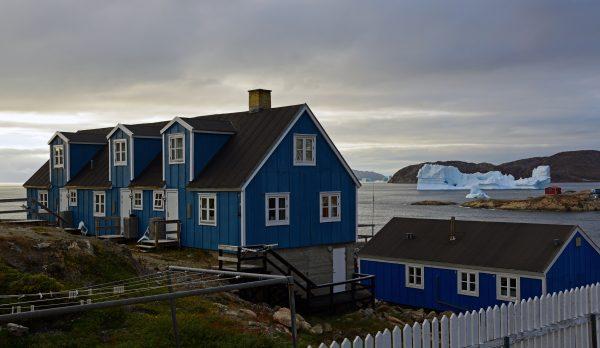 Blick auf die Küste von Upernavik
