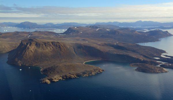 Flug von Upernavik nach Nuussuaq