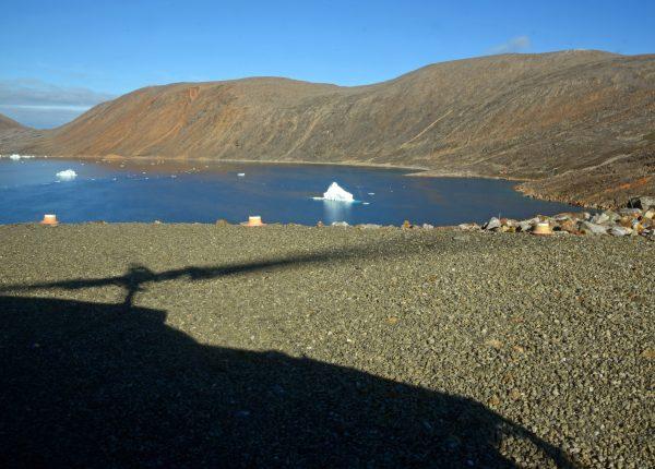 Der Heliport von Nuussuaq