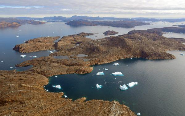 Flug von Nuussuaq nach Upernavik