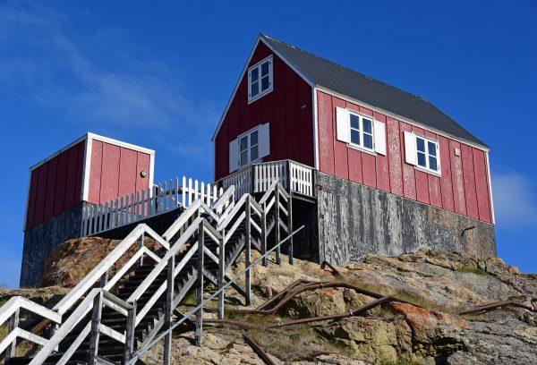 Zinnis Haus in Upernavik