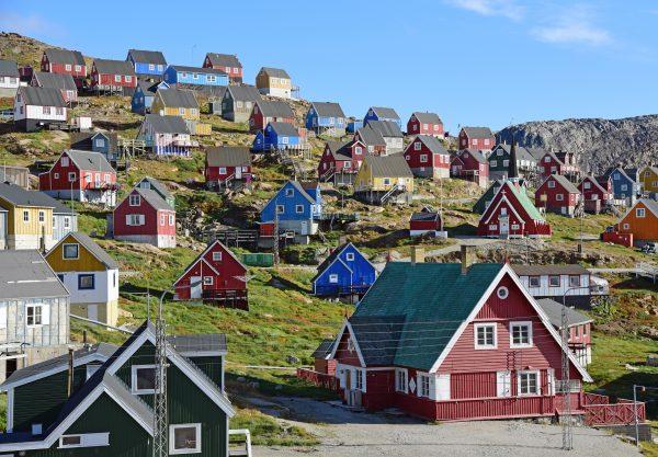 Blick auf Upernavik