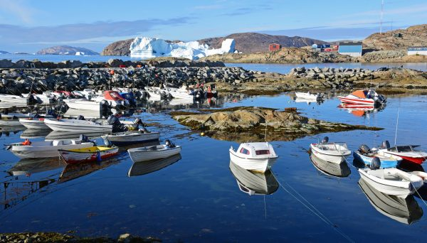 Der Hafen von Upernavik
