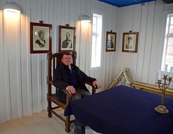 Zinni, der Bürgermeister von Upernavik