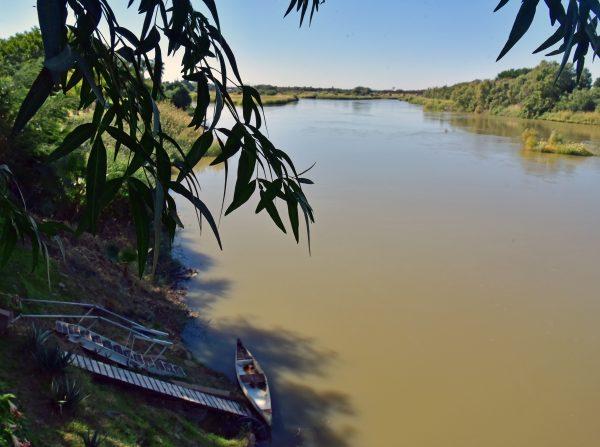 Fluss Oranje, Upington
