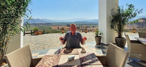 Zinni der Weintester / Indomita Vineyard / Casablanca Valley