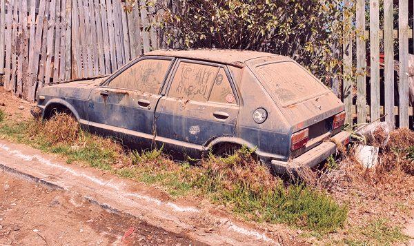 Ein Auto ähnlich wie dem von Zinni in Casablanca