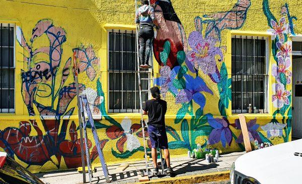 Werdende Kunst in Valparaíso