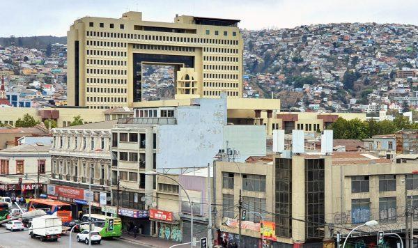 Der Nationalkongress von Chile in Valparaíso