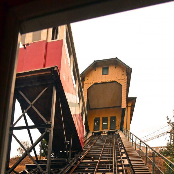 Fahrstuhl fahren in Valparaíso
