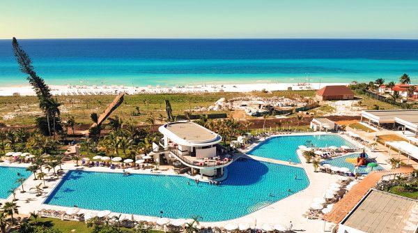 Blick von Hotel International auf den Strand von Varadero