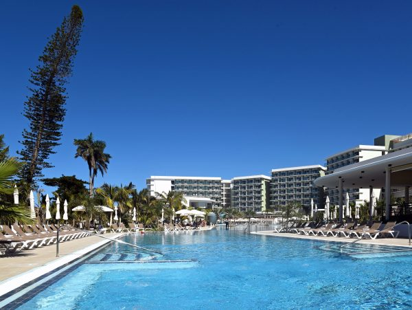 Der Pool vom Hotel International in Varadero