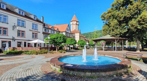 Der Mainplatz in Wertheim