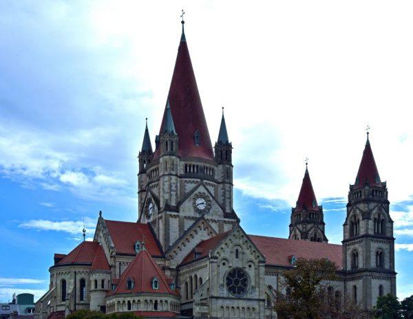Die Franz-von-Assisi-Kirche in Wien