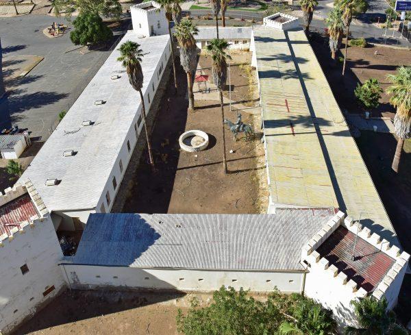 Blick auf die Alte Feste in Windhoek