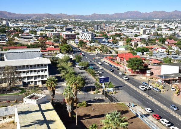 Blick vom Independence Museum aus auf Windhoek