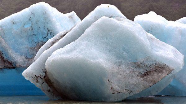 Eisberge im Shakes Lake