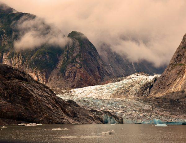 Blick auf den Shakes Glacier