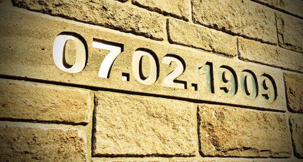 Mein Geburtsdatum auf der Festung Marienberg von Würzburg